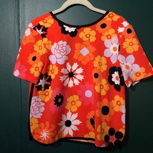 Victoria Beckham for Target multi-colored top